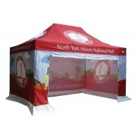 Buy cheap Anti UV Portable Canopy Tent CMYK Heat Transfer Printing Easy Maintenance from wholesalers