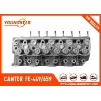Buy cheap Complete Cylinder Head For MITSUBISHI 4D34 Canter  FE-449 / 659	ME997711  ME990196  ME997799     ME993222 product
