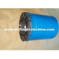 Buy cheap Exploration Mining Diamond Tipped Core Drill Bits Various Waterways Design For Concrete from wholesalers