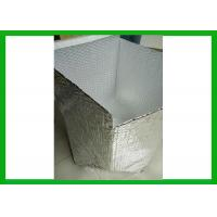 Buy cheap Single Bubble Insulated Box Liners Insulating Liner For Cold Shipping Packaging from wholesalers