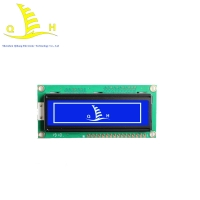 Buy cheap 6 O'Clock Small Panel 2X16 Character Lcd Display from wholesalers