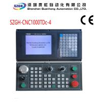 Buy cheap Real color LCD displayer PLC High anti jamming 4 axis cnc controller for Lathe & Turning Center from wholesalers