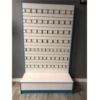 Buy cheap Slatwall Gondola Retail Display Shelving , Mobile Phone Accessory Display Stand from wholesalers