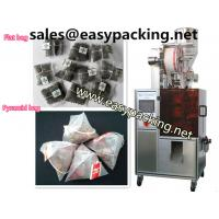 Buy cheap Automatic pyramid nylon tea bag packing machine with envelop from wholesalers
