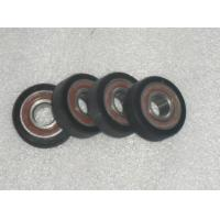Buy cheap Industrial Bisque PU Polyurethane Wheels Coating Aging Resistant With Iron Core from wholesalers