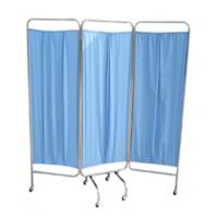 Buy cheap 3 Folding Stainless Steel Ward Screen Hospital Furniture Bed Ward Folding Screen from wholesalers