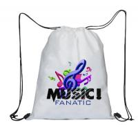 Buy cheap Promotional Custom Logo Printed String Bags Sport Girls Drawstring Bag from wholesalers