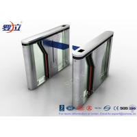 Quality Pedestrian Intelligent Security Drop Arm Turnstile Access Control with LED for sale
