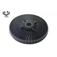 Buy cheap Sun Flower Aluminium Die Castings LED Heatsink With  Black Hard Anodize from wholesalers