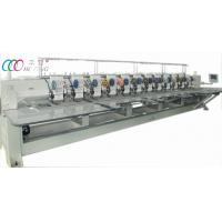 Buy cheap 12 Heads Mixed Flat And Double Sequin Embroidery Machine With Servo Motor from wholesalers
