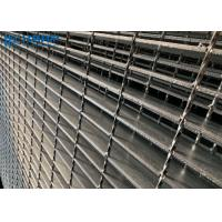 Buy cheap I Type Serrated Galvanized Steel Grating Low Carbon Q235 Material Strong Rust Resistance product