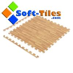 Buy cheap 1/2 EVA Wood Effect Foam Interlocking Floor Tiles Europe Popular from wholesalers