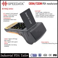 Buy cheap Wifi GSM RuggedBarcode Scanner for Android Chip Card , 8MP Camera from wholesalers