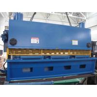 20mm Thickness Hydraulic Sheet Metal Guillotine Shear / Automatic Shearing Machine