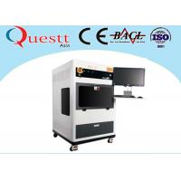 Buy cheap High Stability Small Laser Engraving Machine 2D Photo Glass Subsurface Etching from wholesalers