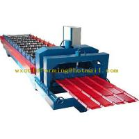 Buy cheap Automatical Walkway Plank Roof Panel Roll Forming Machine with Servo Feeding from wholesalers