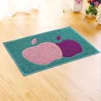 Buy cheap Rectangular Front Door Mats Green Apple Pattern Beautiful Decoration from wholesalers