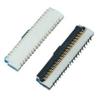 Buy cheap 1.0mm FPC Connector in SMT Straight Type with Single Contact and Special Layout from wholesalers