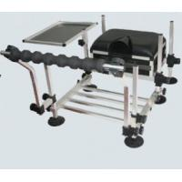 Buy cheap Aluminium Fishing Seat Boxes with Rod Rest and Side Tray STBX023 from wholesalers