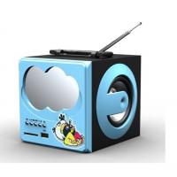 Buy cheap FM radio portable stereo speaker with USB SD  from wholesalers