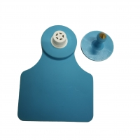 Buy cheap Blue 125 KHz Waterproof Visual Custom Cow Ear Tags from wholesalers