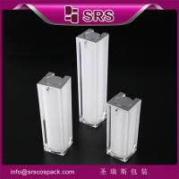 Buy cheap Shengruisi packaging A050-15ml 30ml 50ml Luxury Acrylic airless lotion pump bottle from wholesalers