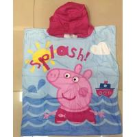 Buy cheap Summer Baby Bathrobe Children Beach Cloak Hooded Towel Bathrobe Towel from wholesalers