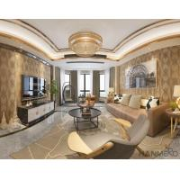 Buy cheap Top Quality Living Room 0.53*10M Suede Wallpaper Wall Decoration Wholesaler Best Prices from wholesalers