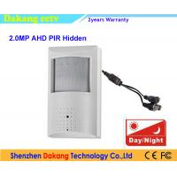 Hidden Pinhole AHD CCTV Camera Pir Sensor Megapixels Resolution