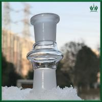 High Satndard Glass Bongs Accessories Dropdown Double Female Adapter For Tobacco