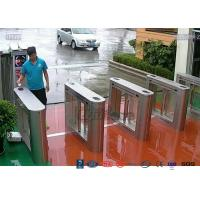 Buy cheap 304 Stainless Steel Card Read Swing Arm Barriers Security Pedestrian Control from wholesalers