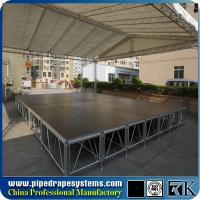 Buy cheap Top quality aluminum outdoor Cheap square portable aluminum stage for events from wholesalers