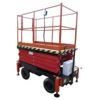 Buy cheap 6 Meters Mobile Scissor Lift Hydraulic Lifting Equipment with Extension Platform 450Kg Loading Capacity from wholesalers