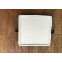 Buy cheap White 18w Led Square Panel Light ,  80ra Embedded Ceiling Lights Saves Energy from wholesalers