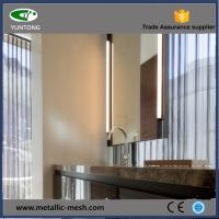 Buy cheap decorative metal hanging mesh curtain from wholesalers
