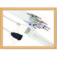 Buy cheap Zoll Ecg Monitor Cable One Piece Ecg Cable10 Lead  Banana IEC from wholesalers