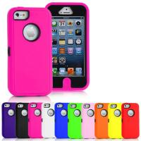 Buy cheap Heavy Duty Armour Cell Phone Protective Cases For iPhone 5C from wholesalers