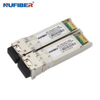 Buy cheap NuFiber Manufacturer Supply 10Gb/s SFP+ Transceiver SM Bidi LC 20km Tx:1330nm/Rx1270nm with DDM from wholesalers