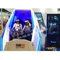 Interactive Virtual Reality Motion Simulator , 2 Seats 9D VR Gaming Equipment