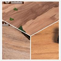 Buy cheap 3W Avoid Glue/Interlocking/Environmental Protection/Home DecK/Wood Grain PVC Floor(6-8mm) product