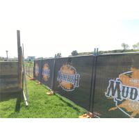 Buy cheap Weld Mesh Temporary Fencing Panels OD 32 x 2.00mm thick 2100mm x 2400mm AS4687-2007 Standard 42 microns hdg before weld from wholesalers