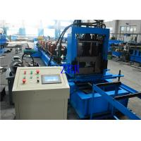 Buy cheap Galvanized Steel C Shape Purlin Roll Forming Machine PLC Computer Control With Inverter product
