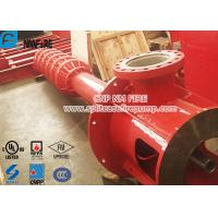 Buy cheap 2 stage Foam Concertrate Can be Used Multistage Vertical Turbine Fire Pump With 5500 Usgpm from wholesalers