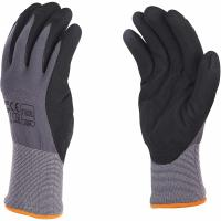 Buy cheap 15G Nylon Spandex Sandy Nitrile Coated Work Gloves For Excellent Grip Customized Color from wholesalers