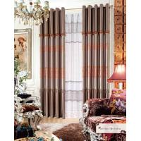 Buy cheap Polyester Jacquard Window Curtain Luxury Ready Made Curtains for Hotel , Cafe , from wholesalers