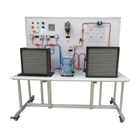 Buy cheap Education Item Refrigeration Training Equipment / Semi Hermetic Compressor Trainer from wholesalers