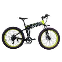 Buy cheap 48v 10AH Fat Tire Electric Bike , Foldable Electric Bicycle With Hidden Battery from wholesalers