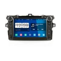 Buy cheap 2DIN HD android car dvd android 4.4.4 HD 1024*600 car DVD GPS for TOYOTA new Corolla with WiFi Mirror link from wholesalers