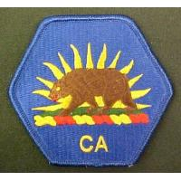 Buy cheap California State Military Reserve Full Color Dress Patch Iron On from wholesalers