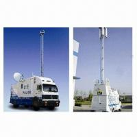 Buy cheap 18m Vehicle-mounted Telescopic Antenna Mast Pole Tower, High Telescopic Mast Tower Pole from wholesalers